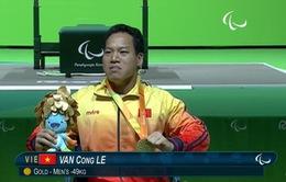 Lê Văn Công giành HCV Paralympic 2016, phá kỷ lục thế giới