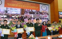 Phối hợp công tác dân vận trong quân đội