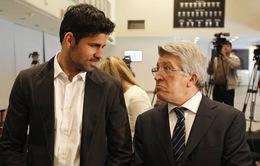 Diego Costa đã gần ngày trở lại Atletico Madrid
