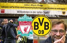 Jurgen Klopp lên kế hoạch ăn mừng bàn thắng vào lưới Dortmund