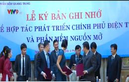 TP.HCM ký biên bản ghi nhớ hợp tác phát triển Chính phủ điện tử