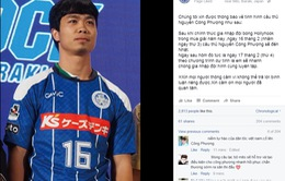 CLB Mito Hollyhock chào đón Công Phượng bằng tiếng Việt trên Facebook