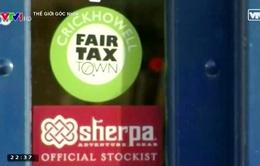 """Thị trấn nói """"không"""" với trốn thuế ở Vương quốc Anh"""