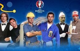 Không đá bóng, Modric, Rakitic làm nghề gì?