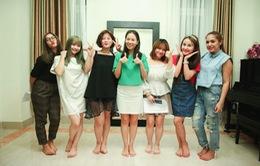 """Vietnam Idol: Thu Minh truyền """"lửa"""" cho top 6 cô gái xinh đẹp"""