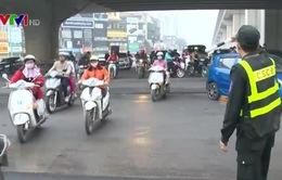Hà Nội: Phối hợp nhiều lực lượng hạn chế ùn tắc giao thông dịp cuối năm