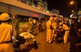 Cảnh sát giao thông TP.HCM triển khai chống đua xe dịp AFF Cup