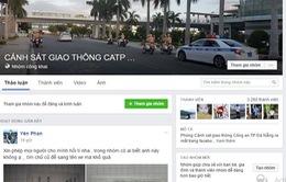 CSGT Đà Nẵng nhận phản ánh của người dân qua Facebook