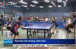 Hơn 200 VĐV tham gia Giải bóng bàn tranh cúp VTV8 mở rộng
