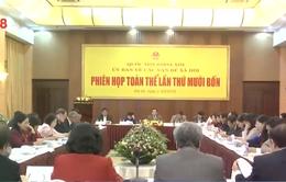 Ủy ban Các vấn đề xã hội thẩm tra báo cáo của Chính phủ về quỹ BHXH