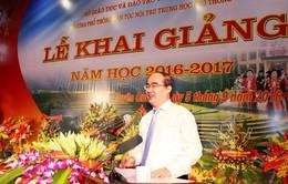 Lãnh đạo Đảng, Nhà nước dự lễ khai giảng trên toàn quốc