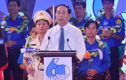 Chủ tịch nước: Thanh niên là rường cột của nước nhà
