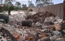 Phát hiện vụ chôn lấp hàng chục khối chất thải trái phép tại Thăng Bình (Quảng Nam)