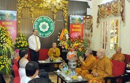 Đồng chí Nguyễn Thiện Nhân chúc mừng Đại lễ Phật đản 2016