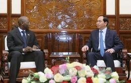 Chủ tịch nước tiếp Giám đốc Quốc gia Ngân hàng thế giới tại Việt Nam