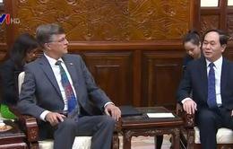 Chủ tịch nước Trần Đại Quang tiếp Đại sứ Australia đến chào từ biệt