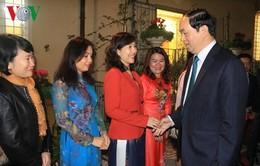 Chủ tịch nước thăm cộng đồng người Việt tại Italy