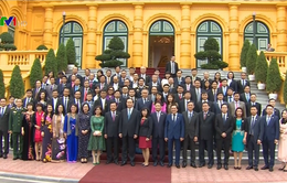 Chủ tịch nước: Doanh nghiệp phải bám sát giá trị Thương hiệu quốc gia