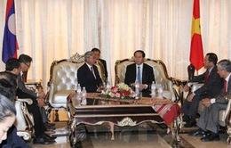 Chủ tịch nước tiếp đại diện Hội hữu nghị Lào - Việt