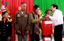 Chủ tịch nước Trương Tấn Sang thăm và làm việc tại tỉnh Đắk Nông