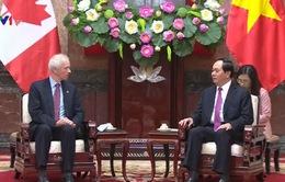 Chủ tịch nước Trần Đại Quang tiếp Bộ trưởng Ngoại giao Canada