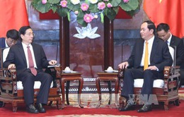 Chủ tịch nước tiếp Bộ trưởng Bộ Công an Trung Quốc