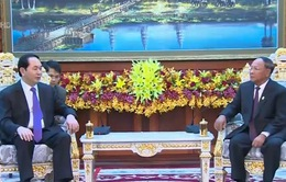Chủ tịch nước hội kiến Chủ tịch Quốc hội Campuchia