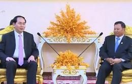 Chủ tịch nước hội kiến Chủ tịch Thượng viện Campuchia