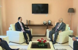 Chủ tịch nước tiếp Phó Chủ tịch Hội đồng Bộ trưởng Cuba