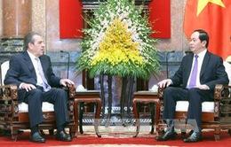 Chủ tịch nước tiếp cựu Tổng thống Chile