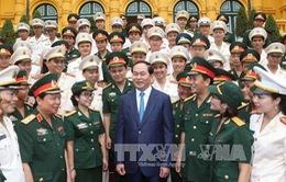 Chủ tịch nước gặp mặt đại biểu thanh niên tiêu biểu