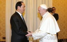 Chủ tịch nước thăm Tòa thánh Vatican