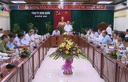 Chủ tịch nước thăm và làm việc tại Bình Định