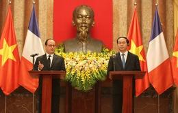 Phát triển vững mạnh quan hệ Việt - Pháp trên nhiều lĩnh vực