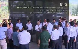 Chủ tịch nước thăm và tặng quà tại trung tâm ICISE