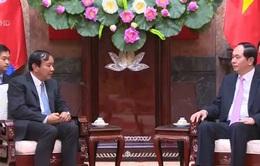 Chủ tịch nước tiếp Bộ trưởng cao cấp Campuchia