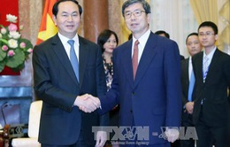 Chủ tịch nước Trần Đại Quang tiếp Chủ tịch Ngân hàng ADB