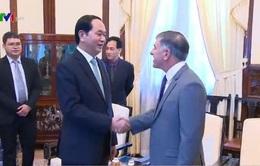 Chủ tịch nước tiếp các Đại sứ chào từ biệt