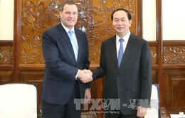 Chủ tịch nước tiếp Đại sứ Cộng hòa Czech