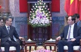 Chủ tịch nước tiếp Đại sứ Nhật Bản