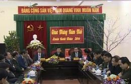 Chủ tịch nước thăm, chúc Tết tỉnh Hà Tĩnh và Quân khu 4