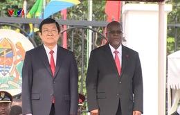 Tanzania đón Chủ tịch nước Trương Tấn Sang bằng nghi lễ cao nhất