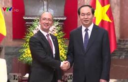 Chủ tịch nước: Sẽ tạo điều kiện cho DN Wallonie Bruxelles đầu tư vào Việt Nam