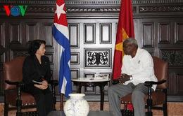 Chủ tịch Quốc hội Nguyễn Thị Kim Ngân hội kiến Chủ tịch Quốc hội Cuba