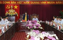 Chủ tịch Quốc hội thăm và làm việc tại Bắc Kạn