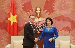 Chủ tịch Quốc hội tiếp đại sứ New Zealand và Philippines