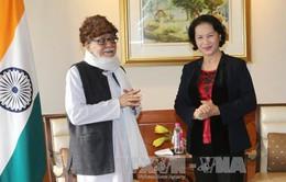 Chủ tịch Quốc hội tiếp Chủ tịch Ủy ban Đoàn kết Ấn Độ - Việt Nam bang Tây Bengal