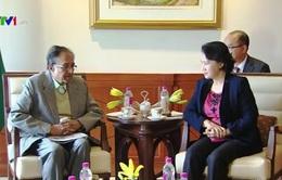 Chủ tịch Quốc hội gặp lãnh đạo Đảng Cộng sản Ấn Độ
