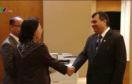 Các hoạt động của Chủ tịch Quốc hội tại Hội nghị Thượng đỉnh các nữ Chủ tịch Quốc hội thế giới