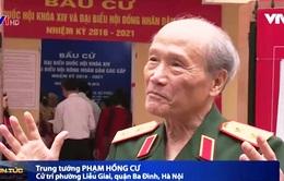 Những cử tri đặc biệt trong ngày bầu cử ở Hà Nội